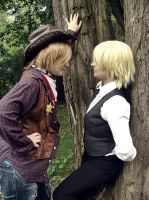 APH: So, we're alone now. by nikara4