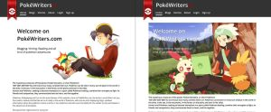 PokeWriters.com Beta by Miingno