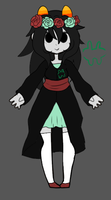 :CLOSED: Homestuck Troll Adoptable by GlowCloud-Adopts