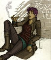 Nymphadora Tonks by Catching-Smoke
