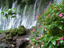 waterfall by ibartley