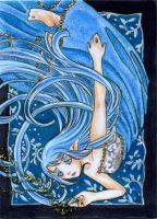 Sparkle in the dark ACEO by Apfelkeks