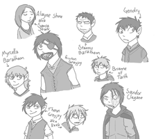 ASoIaF sketches 4 by Skarnic