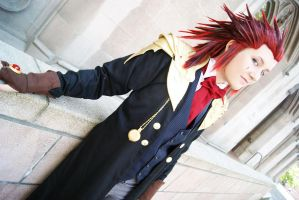 Steampunk Axel by lunaecIipse