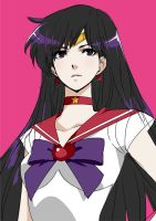 sailor mars by Jakuu