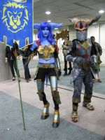 Wow Alliance - Comikaze 2011 by MidnightLiger0