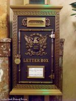 Vintage US Mailbox : 02 by taeliac-stock