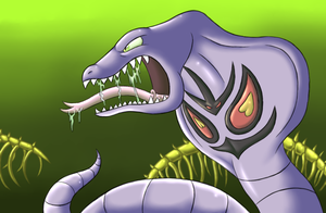 pokeddexed challenge: arbok by megadrivesonic