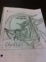 Drawing I did in school when I was very bored. by DarkendDrummer