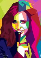 Demi Lovato in Collab with WZ by edhoartwork