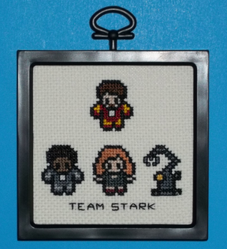 Team Stark Cross Stitch by chujo-hime