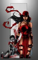 Elektra for HIRE by MarcBourcier