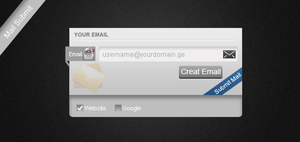 Email Submit by Xuckaa