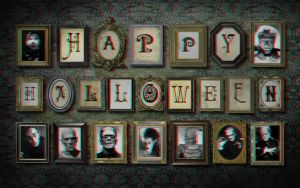 Happy Halloween 3-D conversion by MVRamsey