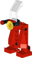 Lego: Exo-Force -  3870 Red Walker by Kantorock