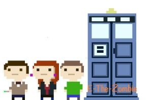 Doctor Who Tiny Tower by E-The-Zombie
