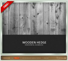 Wooden Hedge - Seamless by artbees