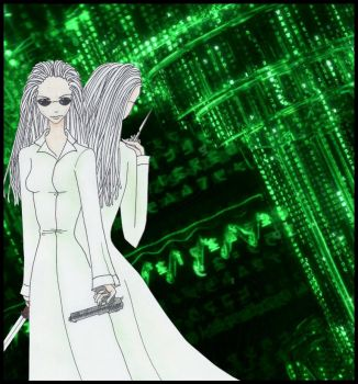 female matrix reloaded twins by suizidhasi