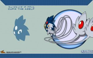 Sonic Channel '13: Cupix the Azelf by Fuzon-S