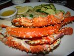 Alaskan King Crab Legs by stephuhnoids