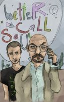 betteR CaLL SaUL (Breaking Bad) by SmudgeThistle