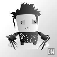 Edward Scissor Hands by DanielMead