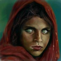 Afghani Girl by Applime