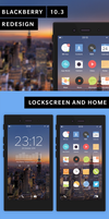 Blackberry 10.3 Redesign Concept by altavizta