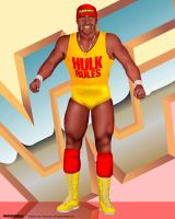 WWF Legends - Hulk Hogan by sanchezdesigns