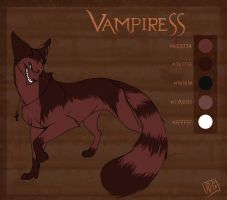 char sheet - Vampiress by tigrin