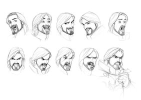 Knight expressions by javieralcalde