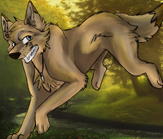 Wolfie - Point Commission by X-x-Magpie-x-X