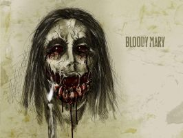 #31DaysOfMonsters Day15: Bloody Mary by franciscomoxi