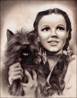 Judy Garland +Wizard of Oz+ by Leather-lynx