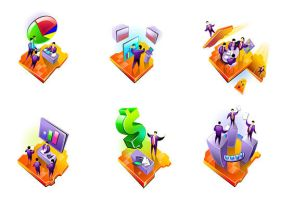Free Business Icon Set 3 by hugoo13