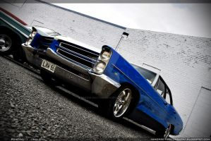 66 Pontiac GTO - LOW66 by Immerse-photography