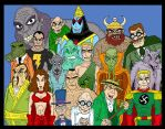 Monster Society of Evil by Lordwormm