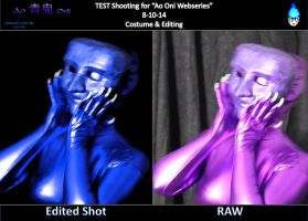 PREVIEW - Ao Oni Webseries Costume\Editing Test by AzureFlame92