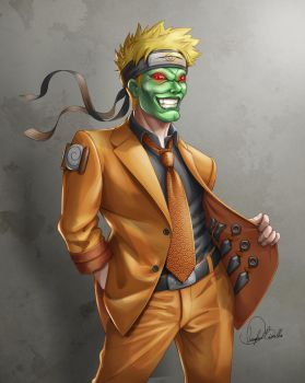 Naruto The Mask by Douglas-Bicalho