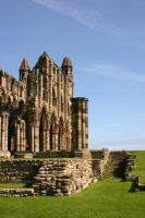 Whitby Abbey Ruins 2 by FoxStox