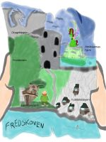 Make Map To Fredskoven by daylover1313