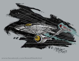 NX-01 Refit Sketch by hoganvibe