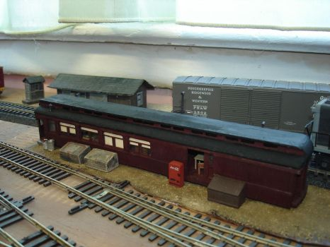 Yard Office on the PR and W model railroad by CaptFox