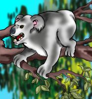 Drop Bear by wpmorse