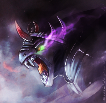30min Challenge - King Sombra by atryl