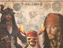 Pirates Of The Caribbean by QueenOfDarkAngels