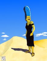 Marge Simpson the model... by Gulliver63