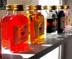 Bottled colours by Terwyn
