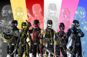 MMPR by Know-Kname