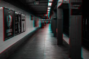Subway Scene 3-D conversion by MVRamsey